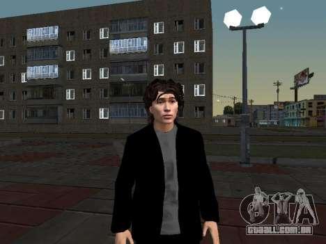 Viktor Tsoi para GTA San Andreas segunda tela
