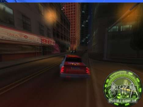 Velocímetro HITMAN para GTA San Andreas quinto tela