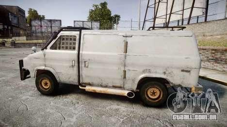 Kessler Stowaway Rusty para GTA 4 esquerda vista