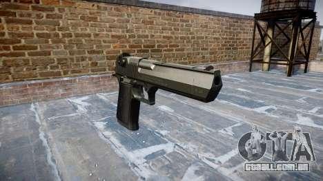 Arma de IMI Desert Eagle Mk XIX Preto para GTA 4