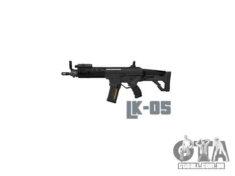 Máquina LC-05 LAM icon3 para GTA 4 terceira tela