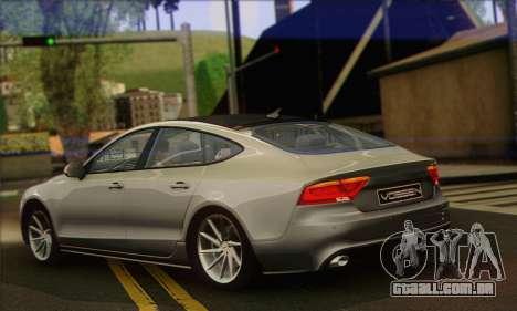 Audi A7 para GTA San Andreas esquerda vista