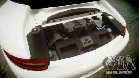Ruf RGT-8 para GTA 4 vista superior