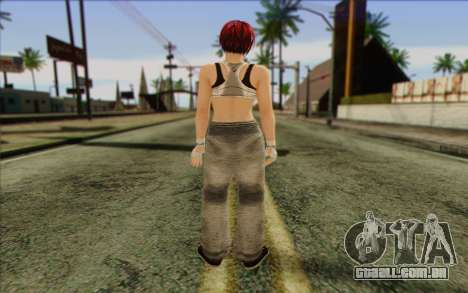 Mila 2Wave from Dead or Alive v12 para GTA San Andreas