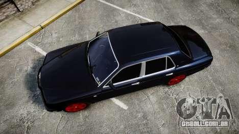 Bentley Arnage T 2005 Rims4 para GTA 4 vista direita