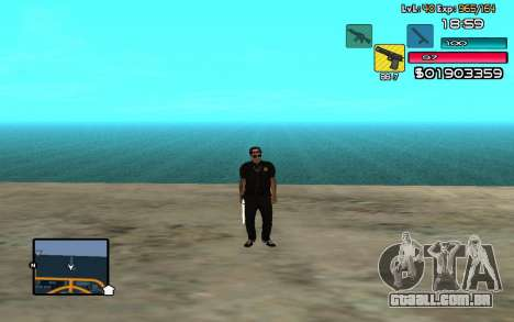 C-HUD by SampHack v.14 para GTA San Andreas segunda tela