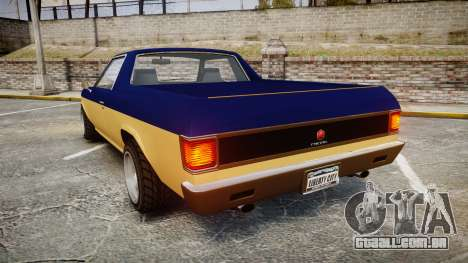 GTA V Cheval Picador para GTA 4 traseira esquerda vista