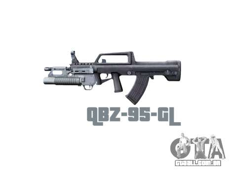 Máquina QBZ-95-GL icon3 para GTA 4 terceira tela