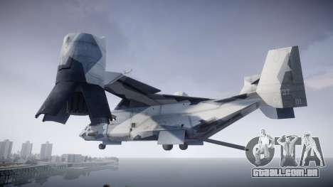 VTOL Warship PJ3 para GTA 4 esquerda vista
