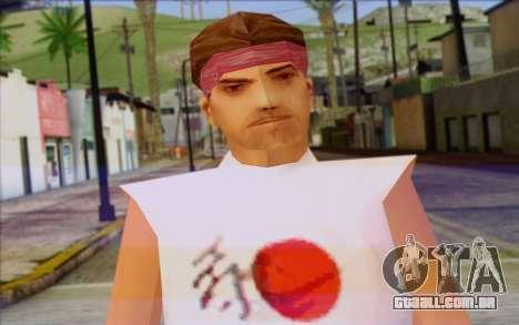 Cuban from GTA Vice City Skin 1 para GTA San Andreas terceira tela