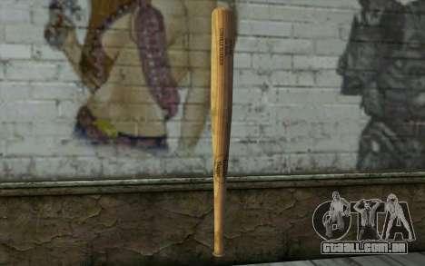 Бита (DayZ Standalone) para GTA San Andreas segunda tela