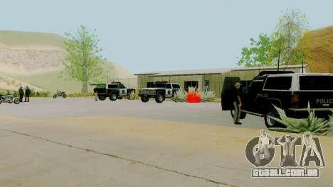 O renascimento de todas as delegacias de polícia para GTA San Andreas décimo tela