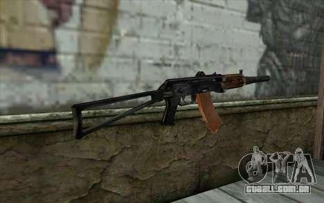 AKS-74U com PBS-5 para GTA San Andreas segunda tela