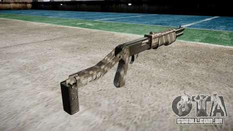 Ружье Franchi SPAS-12 de Fibra de Carbono para GTA 4 segundo screenshot