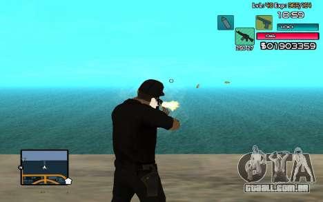 C-HUD by SampHack v.14 para GTA San Andreas terceira tela