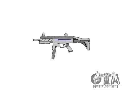 Arma SMT40 com bunda icon3 para GTA 4 terceira tela
