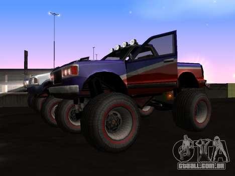 Novas texturas Monstro para GTA San Andreas para GTA San Andreas esquerda vista
