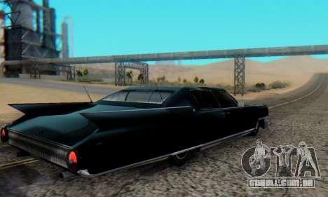 Cadillac Stella II para GTA San Andreas esquerda vista