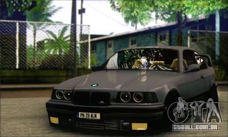 BMW E36 Stanced para GTA San Andreas