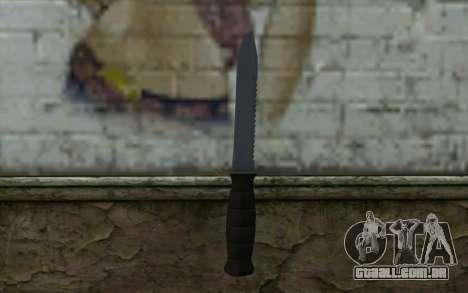 Faca de combate (DayZ Standalone) v2 para GTA San Andreas