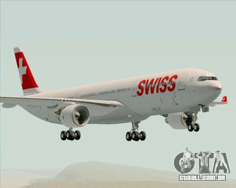 Airbus A330-300X Swiss International Air Lines para GTA San Andreas