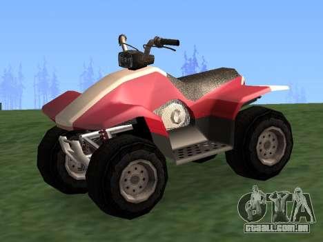 Atualizado Quad para GTA San Andreas