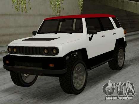 Karin BJ XL para GTA San Andreas