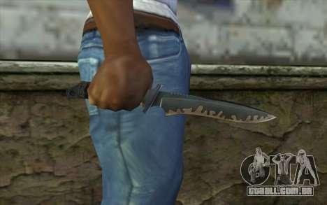 Knife from CS:S Bump Mapping v2 para GTA San Andreas terceira tela