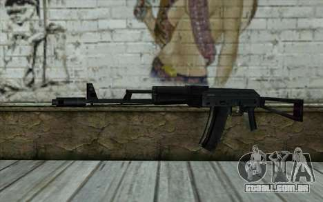 АКС-74 do Paranoia para GTA San Andreas