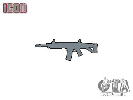 Máquina Magpul Massada ACW-R icon1 para GTA 4 terceira tela