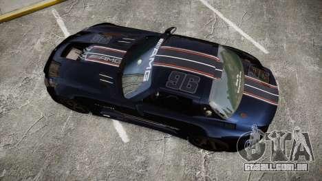 Mercedes-Benz SLS AMG GT-3 high para GTA 4 vista direita