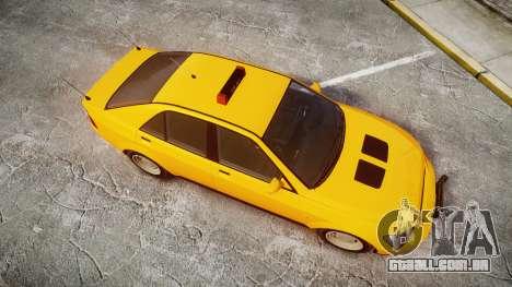 Karin Sultan Taxi para GTA 4 vista direita