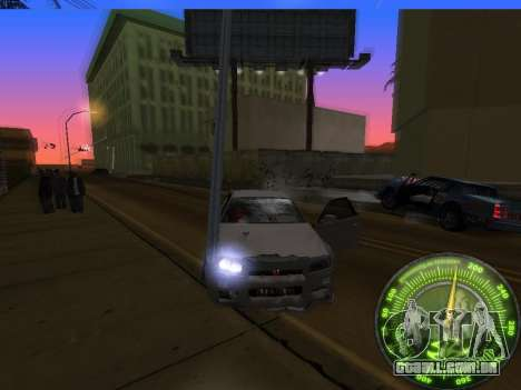 Velocímetro HITMAN para GTA San Andreas sétima tela