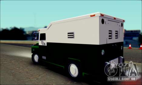 Shubert Armored Van from Mafia 2 para GTA San Andreas esquerda vista