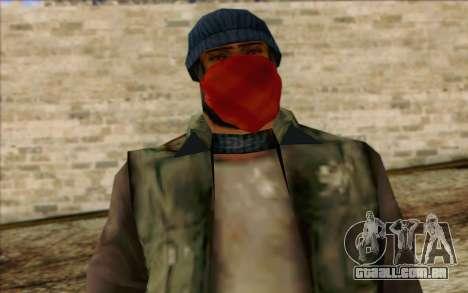 Vagabonds Skin 1 para GTA San Andreas terceira tela