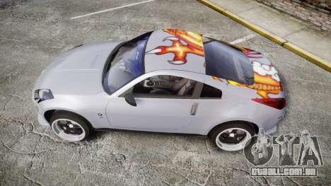 Nissan 350Z EmreAKIN Edition para GTA 4 esquerda vista
