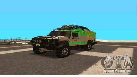 Hummer H2 Ratchet Transformers 4 para GTA San Andreas