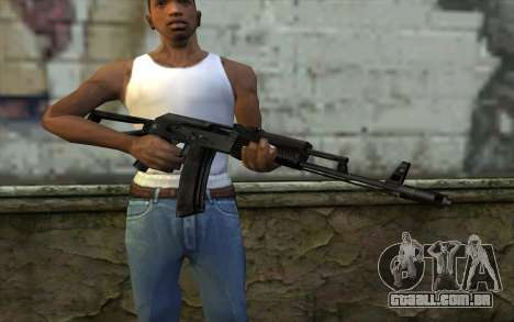 АКС-74 do Paranoia para GTA San Andreas terceira tela