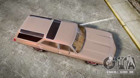 Oldsmobile Vista Cruiser 1972 Rims1 Tree4 para GTA 4 vista direita