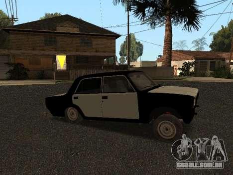 ESTES 2107 Hobo para GTA San Andreas esquerda vista