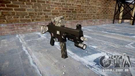 Arma UMP45 de Fibra de Carbono para GTA 4