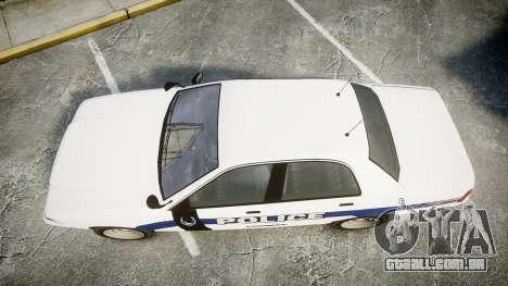 GTA V Vapid Cruiser LP [ELS] Slicktop para GTA 4 vista direita