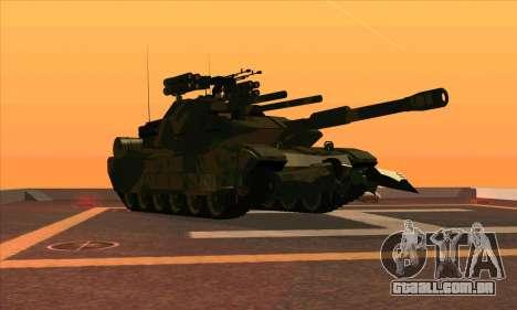 M1A1 Abrams Brawl (Transformers) para GTA San Andreas esquerda vista