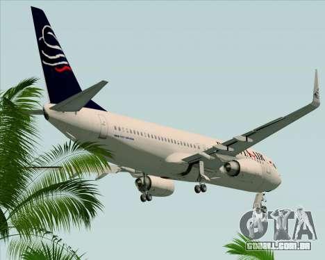 Boeing 737-800 Batavia Air para vista lateral GTA San Andreas