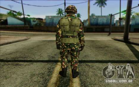 The Expendables 2 Enemy para GTA San Andreas segunda tela