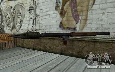 РПГ-2 (Battlefield: Vietnam) para GTA San Andreas