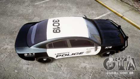 Dodge Charger 2015 LPD CHGR [ELS] para GTA 4 vista direita