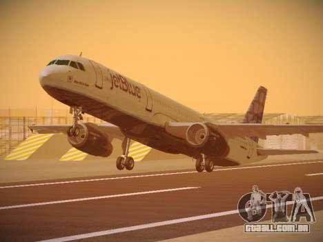 Airbus A321-232 jetBlue Blue Kid in the Town para GTA San Andreas