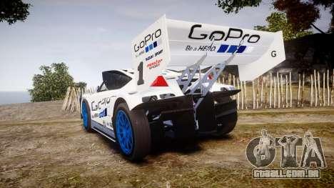 Suzuki Monster Sport SX4 2011 para GTA 4 traseira esquerda vista