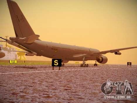 Airbus KC-45A (A330-203) Australian Air Force para GTA San Andreas vista traseira